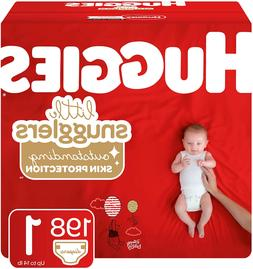 Huggies Little Snugglers Baby Diapers, Size 1, 198 Ct, One M