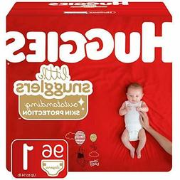 Huggies Little Snugglers Baby Diapers, Size 1 , 96 Ct