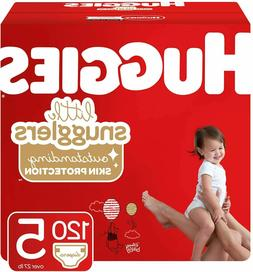 Huggies Little Snugglers Baby Diapers Size 2 , 180 Ct, One M