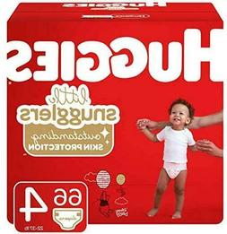 Huggies Little Snugglers Baby Diapers, Size 4 , 66 Ct Diaper
