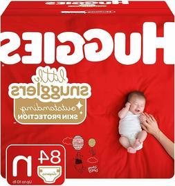 32 Huggies Little Snugglers Diaper, size 1 fits up 14 lb,  G