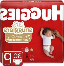 Huggies Little Snugglers Baby Diapers, Size Preemie, 30 Coun