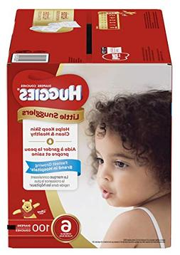 Huggies Little Snugglers Baby Diapers, Size 6 , 100 Count, E