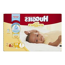Huggies Little Snugglers Diapers - Size 1 - 80 ct