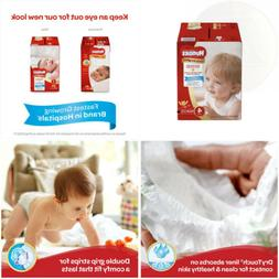 HUGGIES Little Snugglers Diapers, Size 2, Giant Pack, 132 co