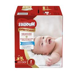 Huggies Little Snugglers Baby Diapers, Size 1, 100 Count, GI