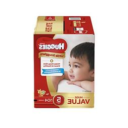 Huggies Little Snugglers Baby Diapers, Size 5, 104 Count, Hu