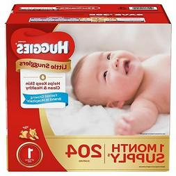 little snugglers diapers size 2 186 ct