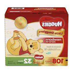 Huggies Little Snugglers Newborn Diapers and Gentle Wipes Ki