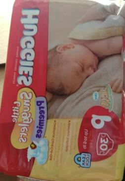 Huggies Little Snugglers Preemie Diapers 30 count, Up to 6lb
