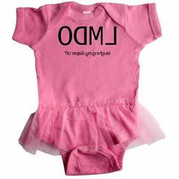 Inktastic LMDO-laughing My Diaper Off Infant Tutu Bodysuit H