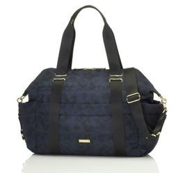 Storksak London Sandy Blue Sport Nappy Diaper Bag, Baby Chan