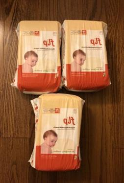 LOT OF 3 Flip One Size 8-35 Lbs 18 Disposable Cloth Diaper I