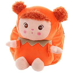 Lovely Mousse Dolls Toddler Backpack Infant Villus Knapsack