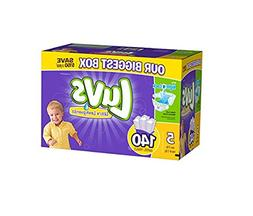 luvs diapers size 5, 140 count