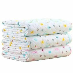 Baby Kid Mattress Waterproof Changing Pad Diapering Sheet Pr