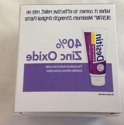 Desitin Maximum Strength Diaper Rash Paste Cream with 40% Zi