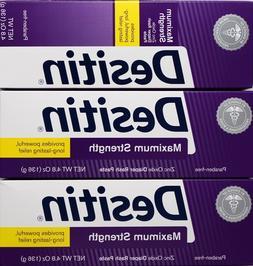 Desitin Maximum Strength Zinc Oxide Diaper Rash Paste, 4.8 O