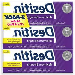 Desitin Diaper Rash Paste Maximum Strength 4.8 oz 3 Tubes 14
