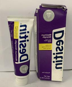 Desitin Maximum Strength Zinc Oxide Diaper Rash Paste, 4.8 O