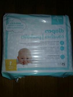 Medline MBD2001Z Baby Diapers, Size 1, 8–14 lb.