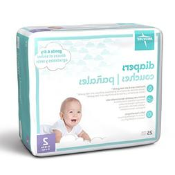Medline MBD2002 Baby Diapers, Size 2, 12-18 lb.