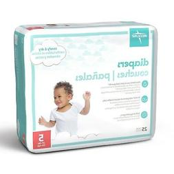 Medline MBD2005 Baby Diapers, Size 5, 27+ lb.  200 Count Cas