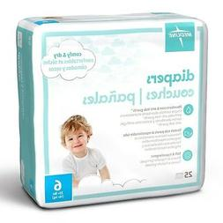 Medline MBD2006 Baby Diapers, Size 6, 35+ lb.  200 Count Cas