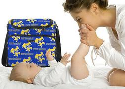 MCNEESE STATE Diaper Bags Baby Bag  LOADED WITH POCKETS! ON