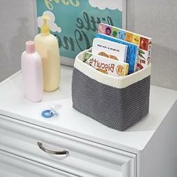 mdesign knit baby nursery closet