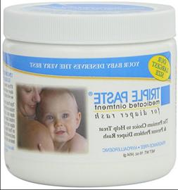 Triple Paste Medicated Ointment for Diaper Rash 16oz