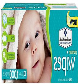 Members Mark Premium Diaper Baby Adult Wet Wipes  1000 ct Ca
