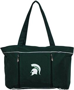 Michigan State University Spartans Diaper Bag with Changing