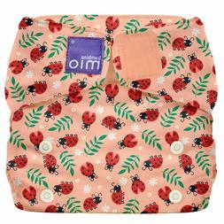 Bambino Mio Miosolo All-in-One Cloth Diaper, Loveable Ladybu