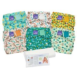 Bambino Mio Miosolo Cloth Diaper Set, Rainforest