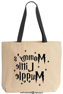 Mommy's Little Muggle Funny Harry Potter Reusable Canvas Tot