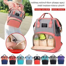 Mommy Maternity Nappy Diaper Bag Large Capacity Baby Bag Tra
