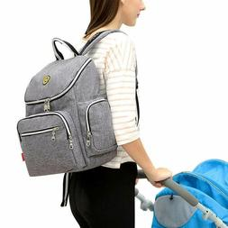Multi-Function Baby Diaper Bag Backpack with Changing Pad an