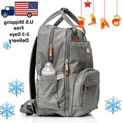 Diaper bag backpack Baby Travel multi function waterproof la