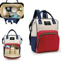 Multi Function Mummy Maternity Nappy Bag Patchwork Large Cap