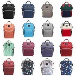 Multifunctional Diaper Bag Ergo Large Nappy Baby Backpack Wa
