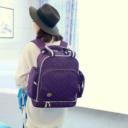 Mummy Diaper Bag Maternity Baby Nappy Backpack Waterproof In