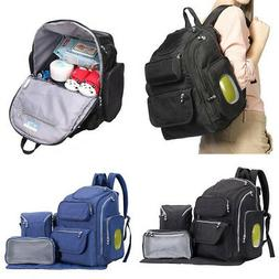 Mummy Maternity Baby Diaper Bag Nappy Handbag Backpack Organ