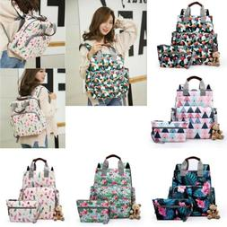 Women Nappy Mummy Diaper Changing Baby Travel Backpack Strol