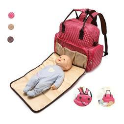 Mummy Maternity Nappy Bag Large Capacity Baby Travel Backpac