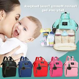 Mummy Maternity Nappy Diaper Bag Large Capacity Baby Bag Tra