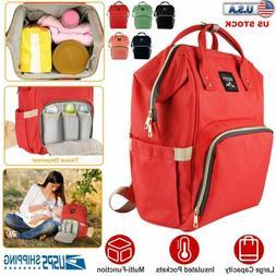 Mummy Maternity Nappy Diaper Bag Large Capacity Baby Bag Nur