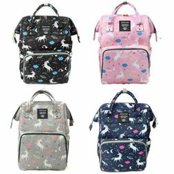 Ergo Queen Diaper Bag Backpack Large Capacity Unicorn Baby T