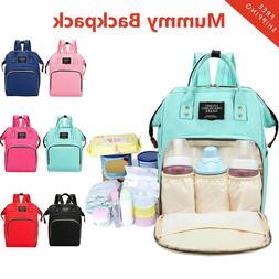 Mummy Mom Maternity Nappy Diaper Bag Large Capacity Baby Tra