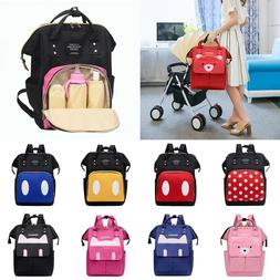 Mummy Nappy Diaper Bag Baby Care Large Capacity Travel Nursi